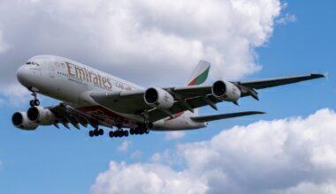 Emirates, Airbus A380, Frankfurt Airport