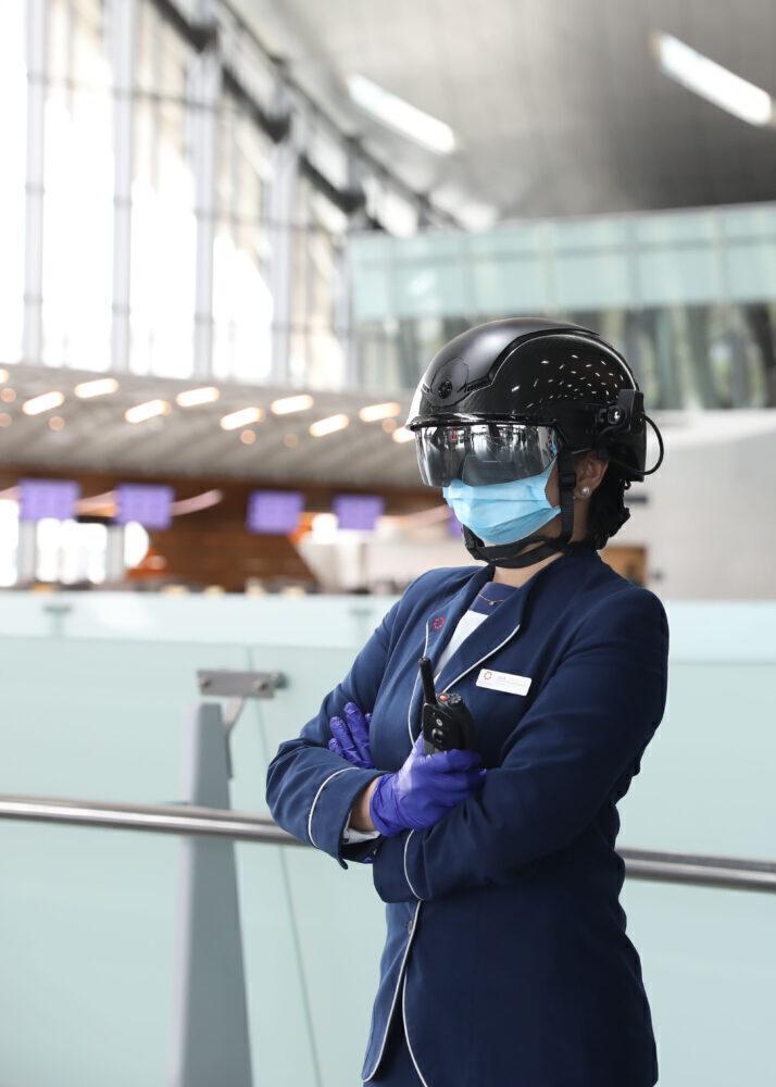 UV Helmet Scanners
