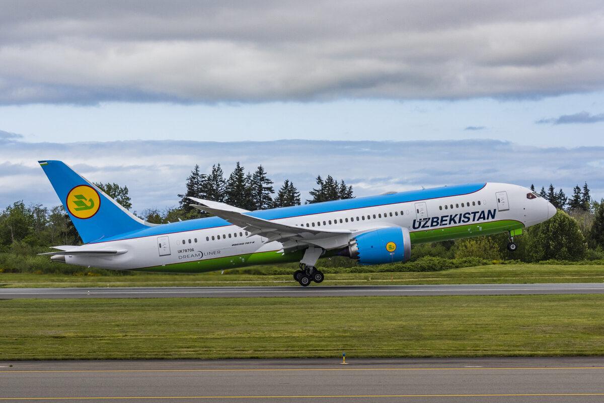 Boeing, Uzbekistan Airways, Humanitarian Aid