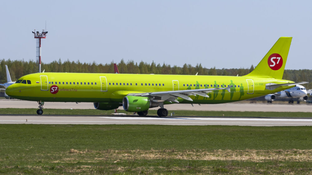S7 Airlines Airbus A321-200