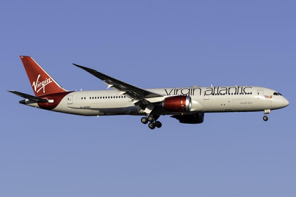 Virgin Atlantic Boeing 787-9 Dreamliner G-VOOH