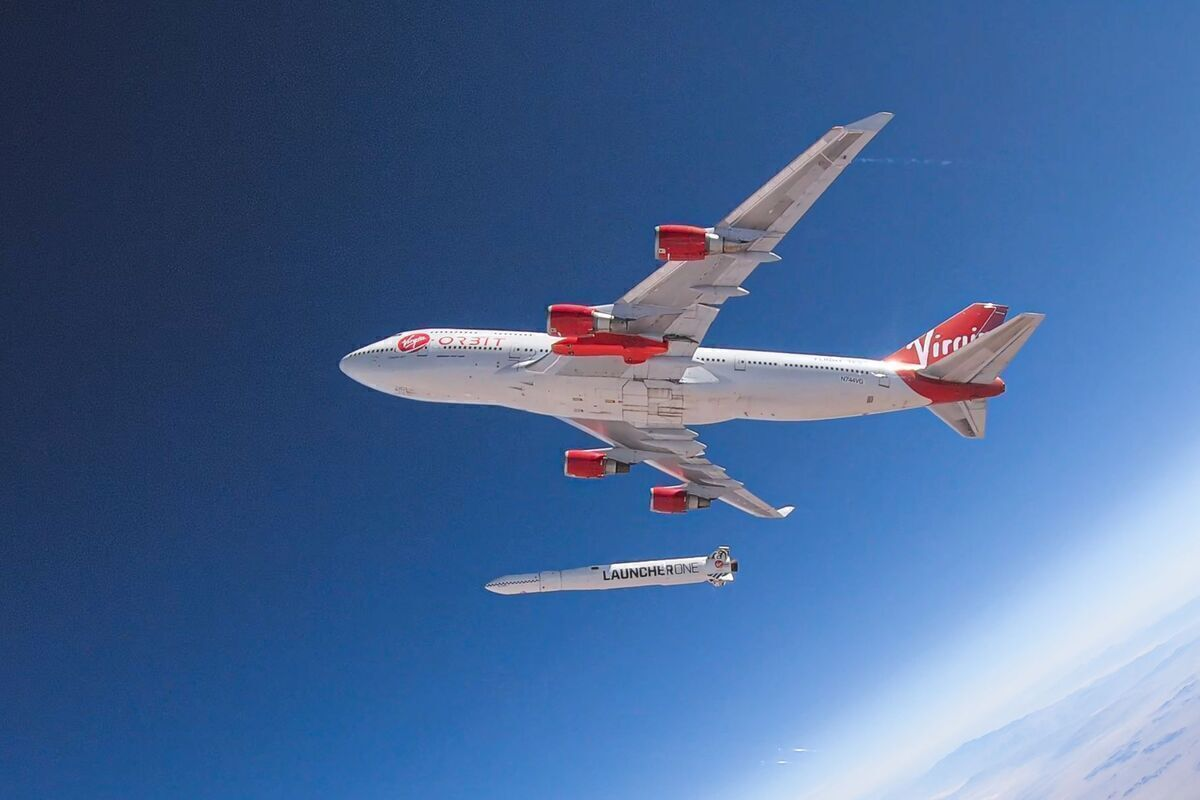 Virgin Plans To Launch Satellites From A Boeing 747 Next Month
