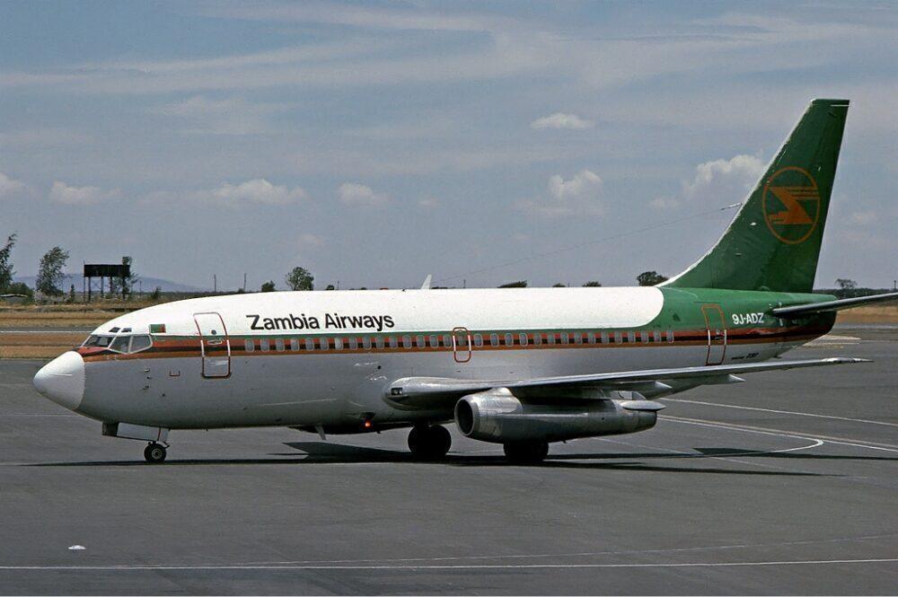 Zambia Airways Boeing 737
