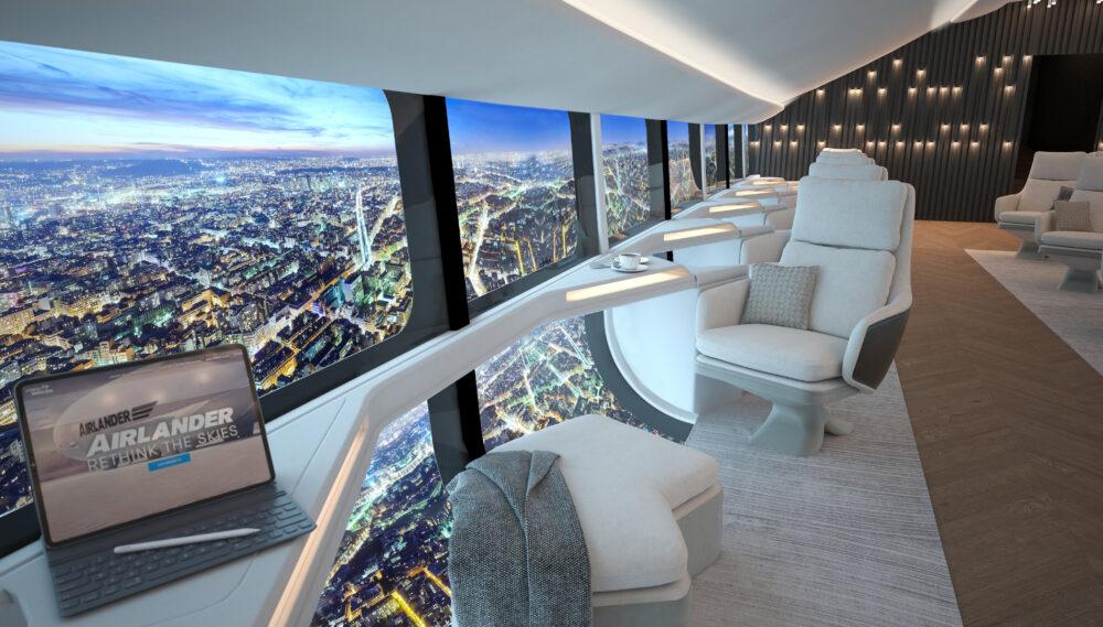 Airlander 10 cabin