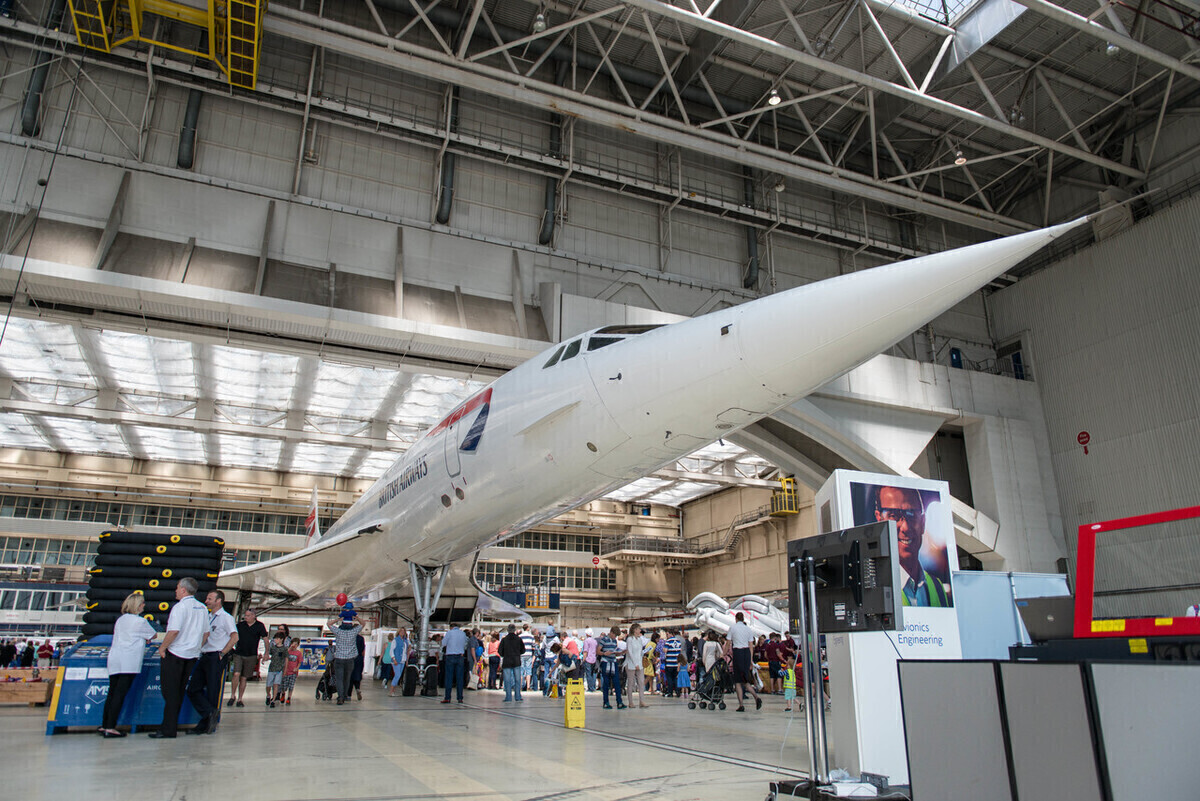Relocating A Relic: British Airways Moves Concorde Nose To T5