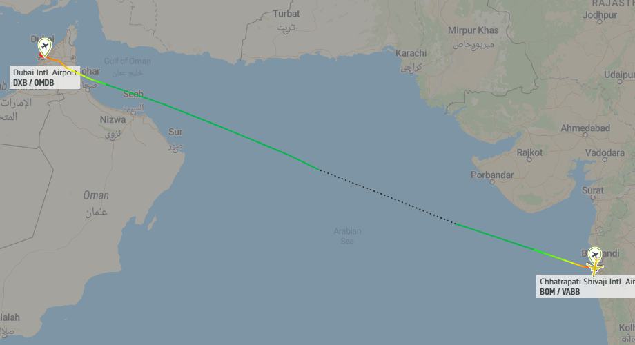 Just One Passenger Flies On Emirates 777 Flight From India
