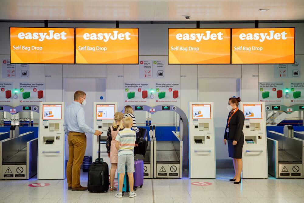 easyJet Gatwick Airport
