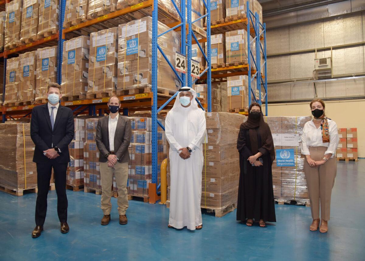 WHO Logistics Hub in Dubai