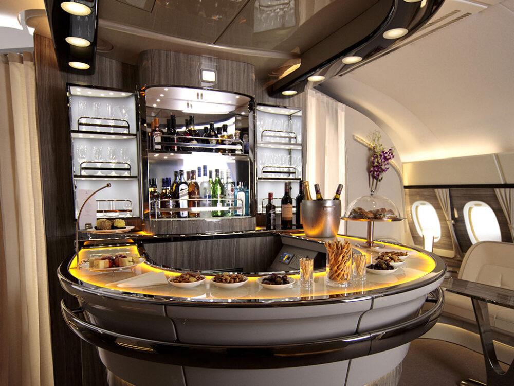 A380 Bar Emirates