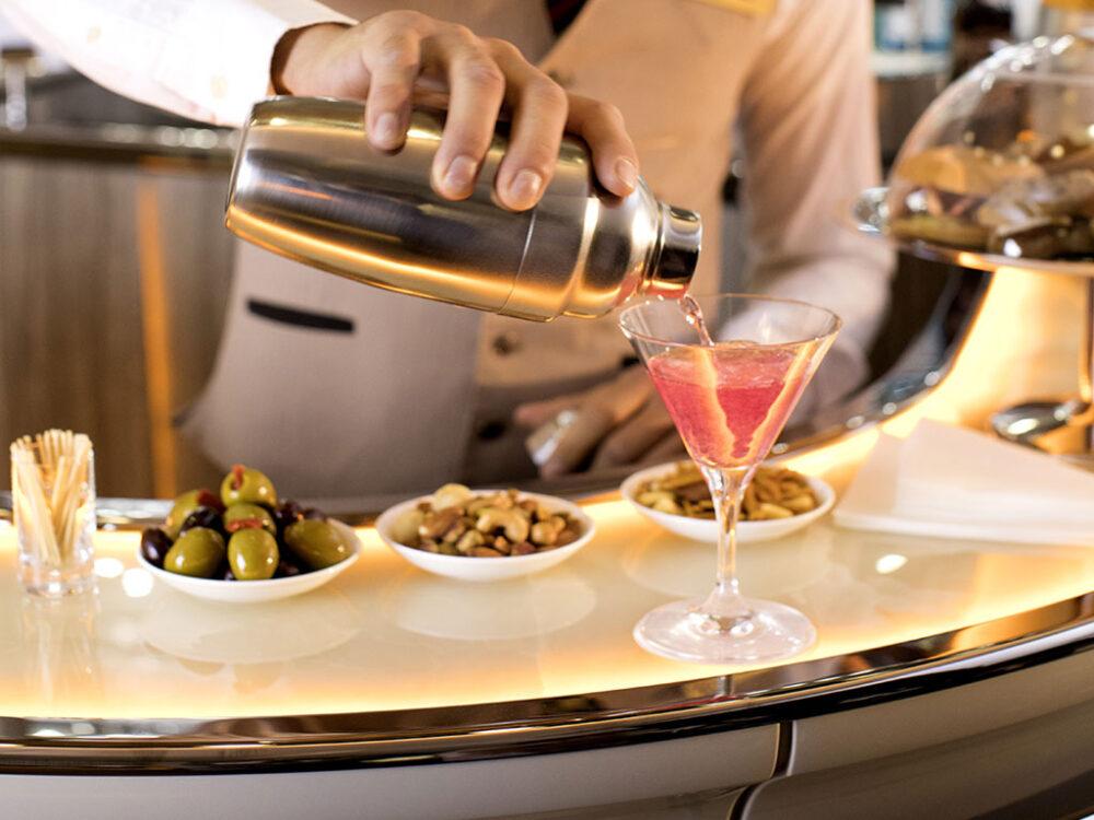 Emirates A380 Bar