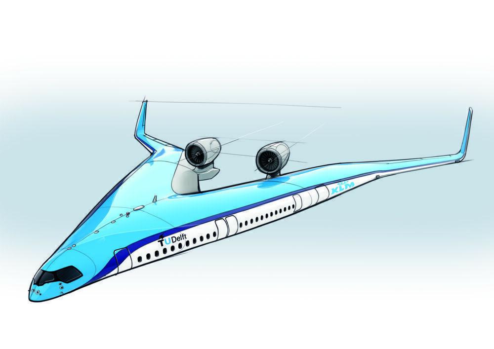 KLM Flying V proposal