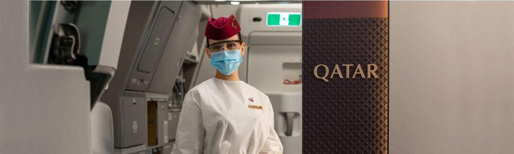 Qatar Airways Mask