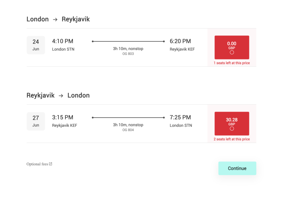 Icelandic Startup PLAY Launches Ticket Sales With Free Seats