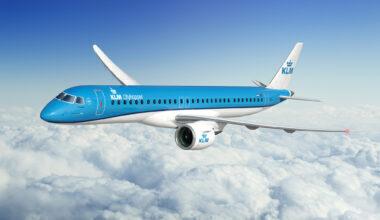 KLM E195 E2