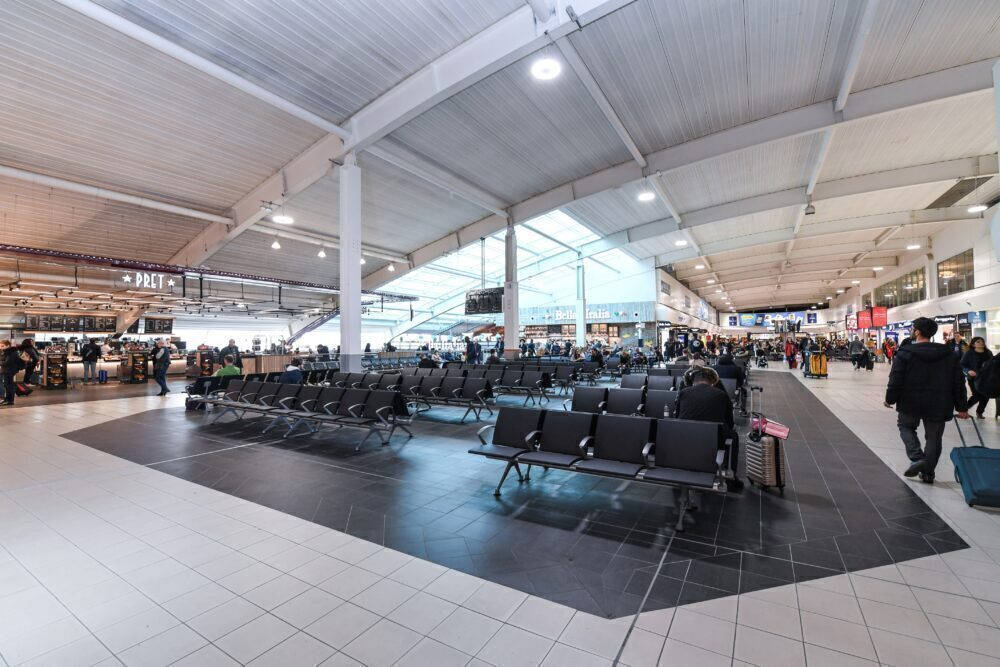 Luton Departure Lounge