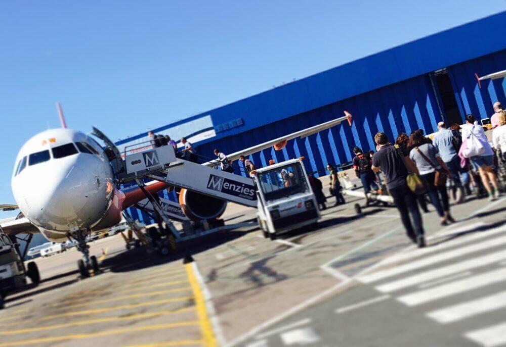 Luton Airport Boarding
