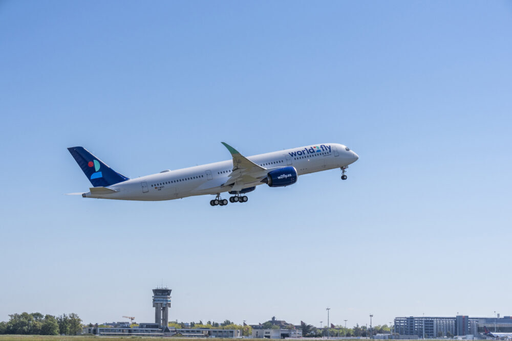 World2Fly First Airbus A350