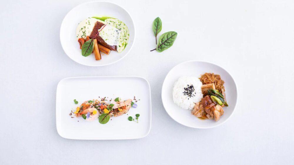 Taste of finnair meals