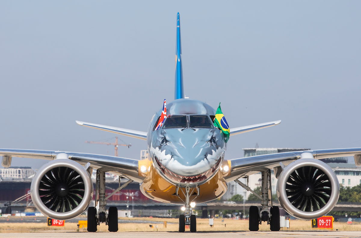 Embraer, London City, Steep Approach
