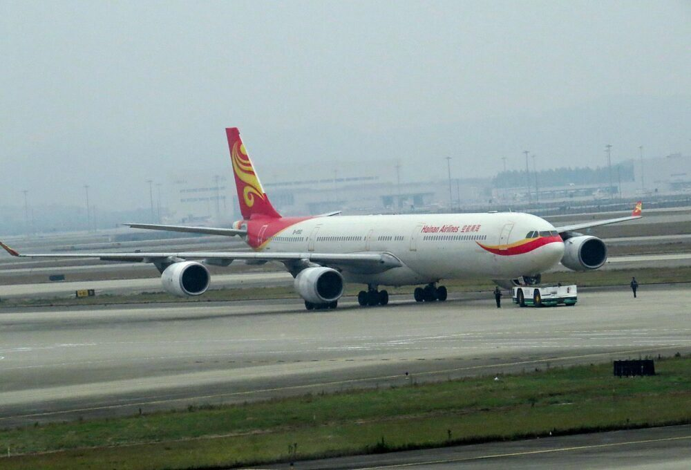 Hainan Airlines Airbus A340-600