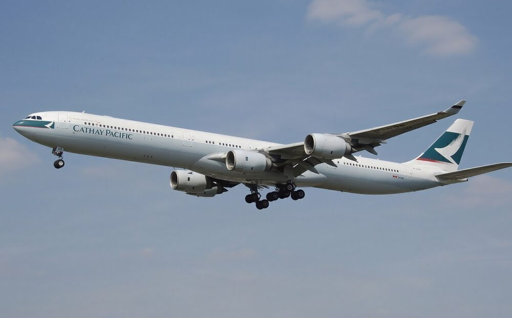 Cathay Pacific Airbus A340-600