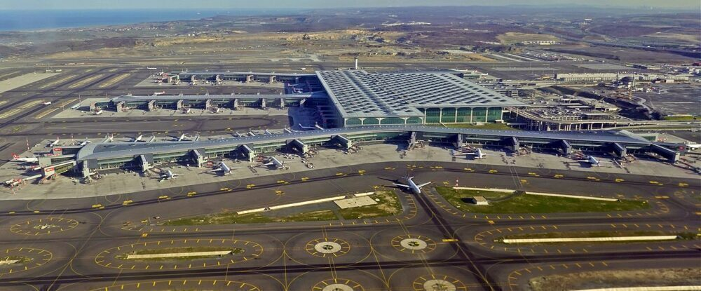 Istanbul Airport From Above