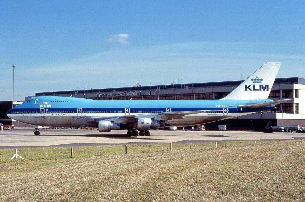 KLM Boeing 747-200