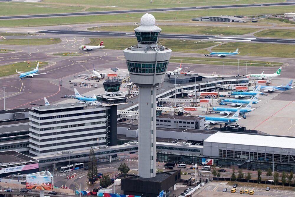 Amsterdam Schipol Airport ATC Tower