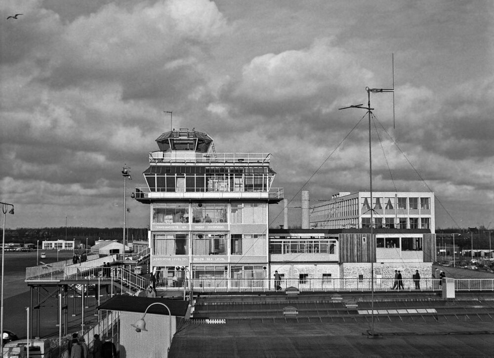 Amsterdam Schipol Airport Old ATC Tower