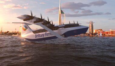 Brittany Ferries seaglider