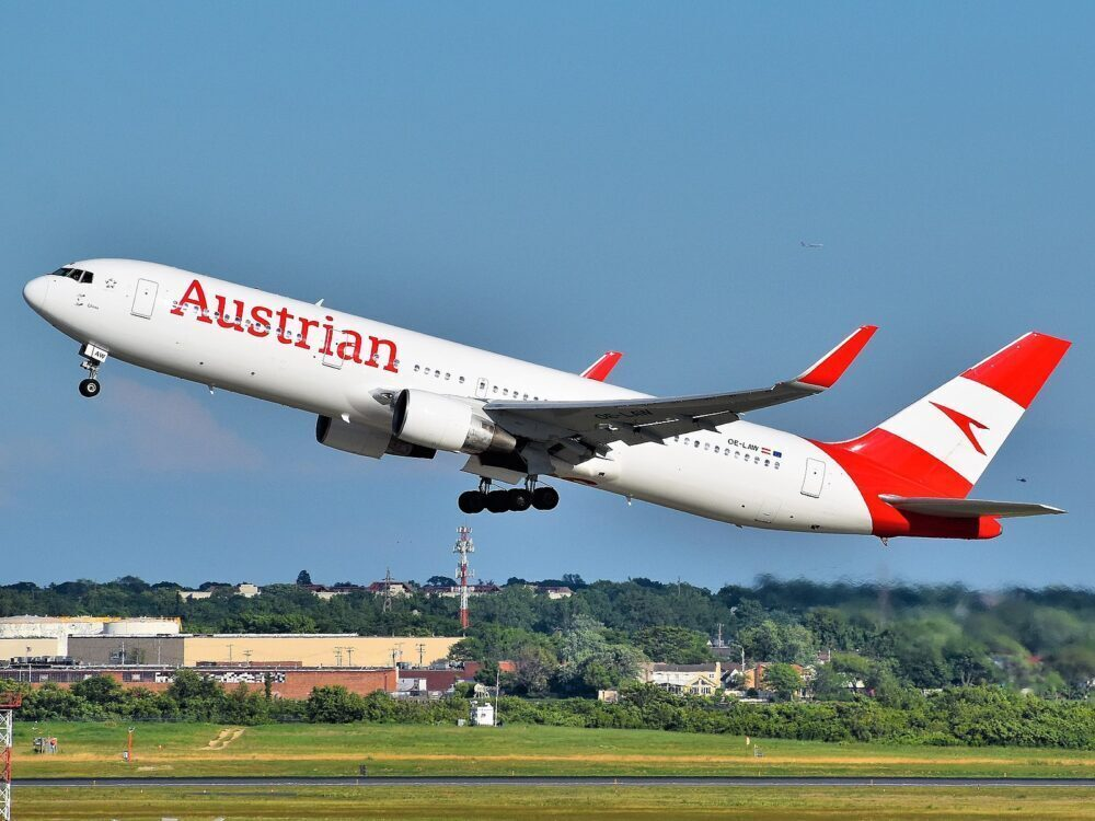 Where Did Austrian Airlines Target Its Boeing 767 Operations?