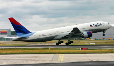 Delta Boeing 777 Jet