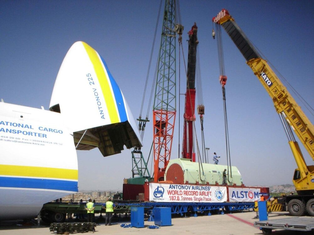 AN-225 record breaking