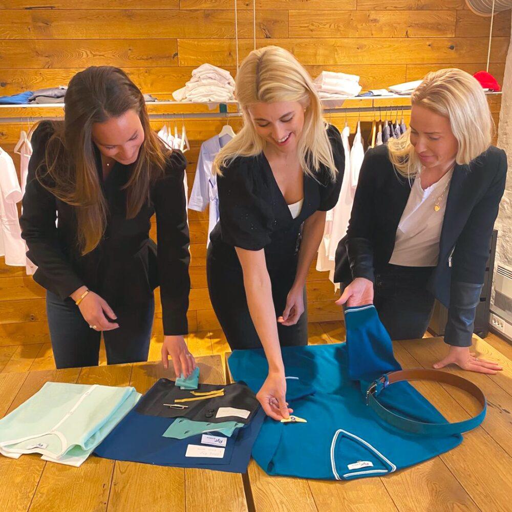 Flyr uniforms being designed