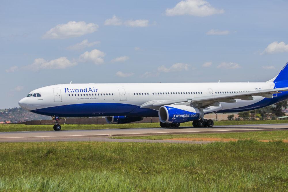 RwandAir A330.