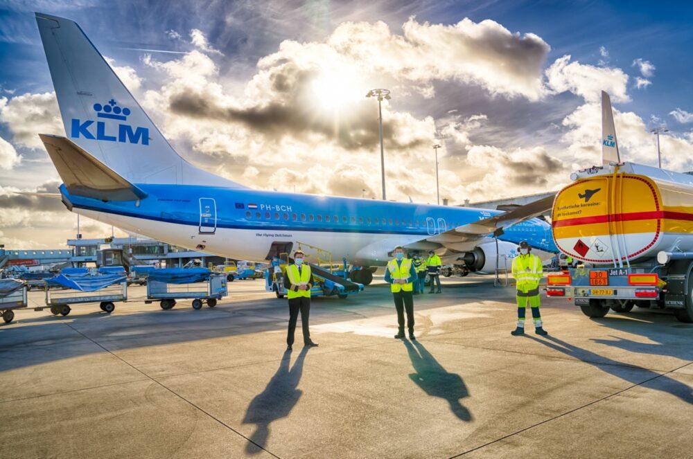 KLM synthetic kerosene