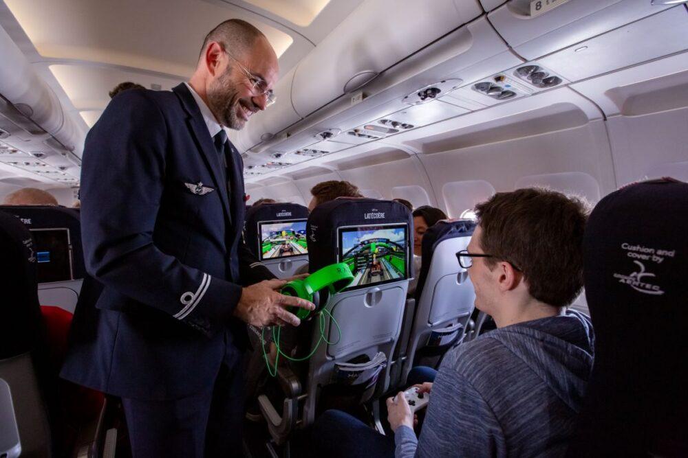 Air France Latécoère LiFi trial