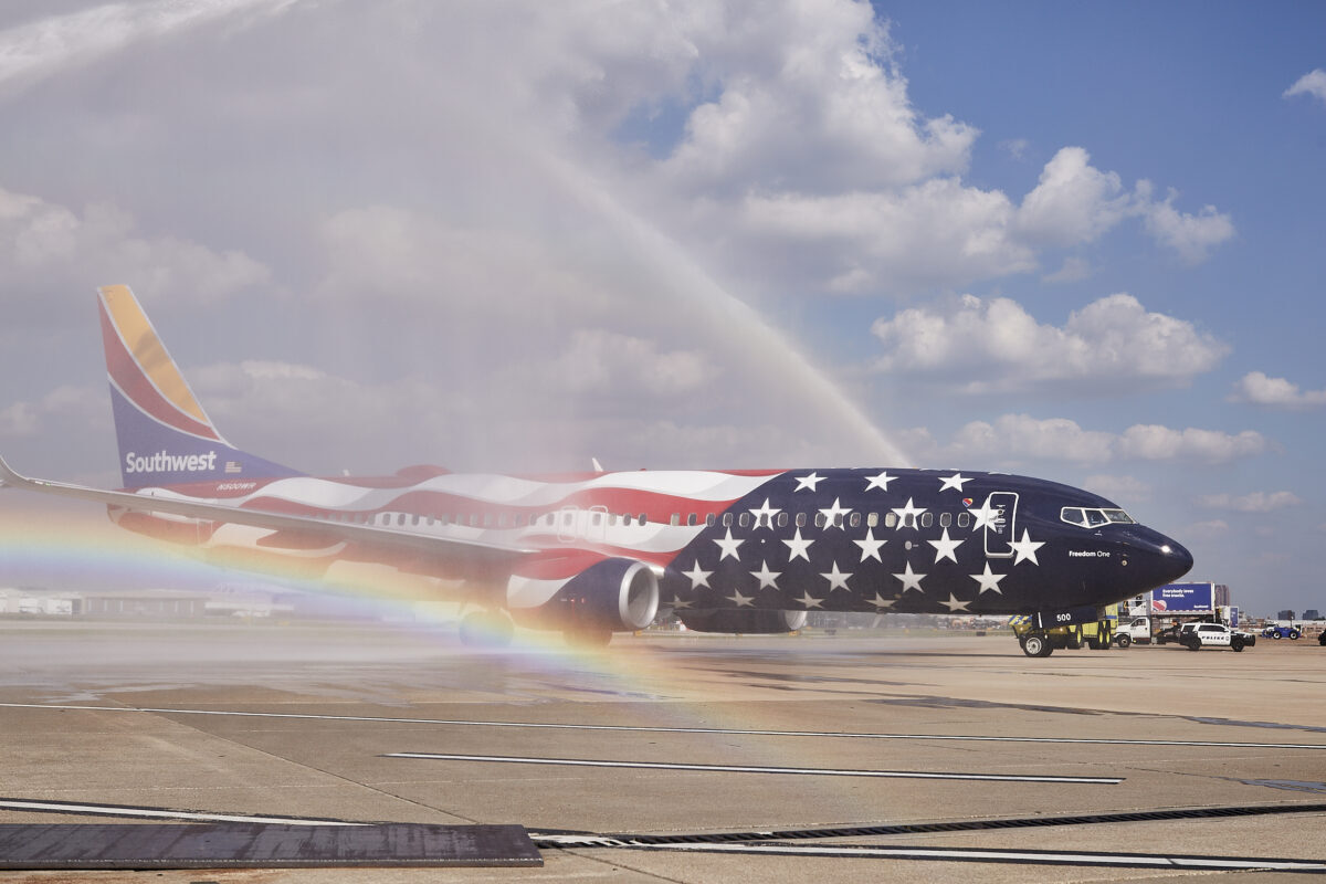 Southwest Airlines Celebrates 50 Years With Special Livery