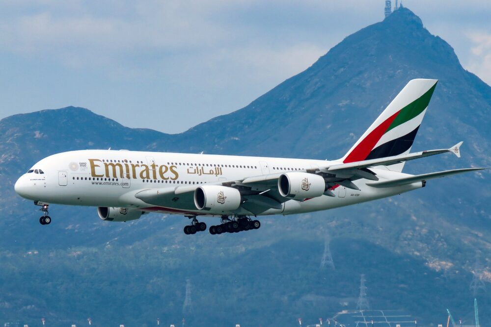 Emirates A380 A6-EDF