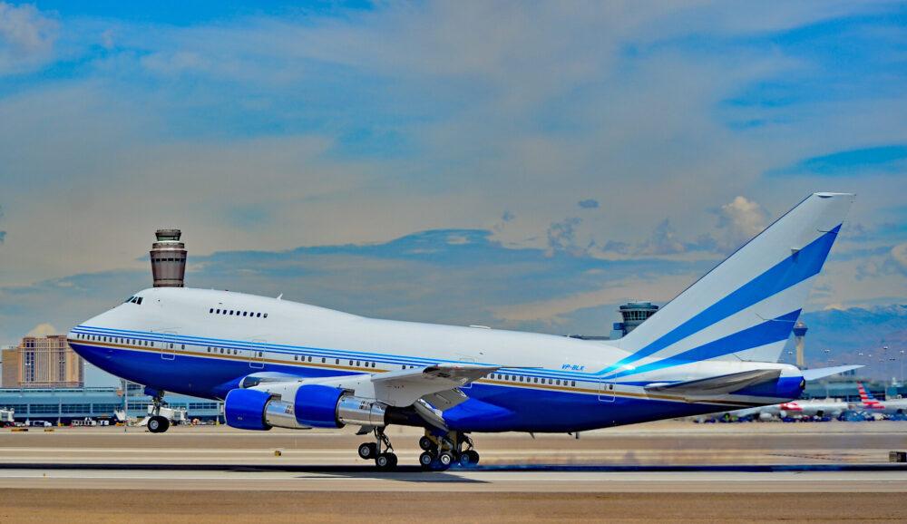 Sands Boeing 747SP