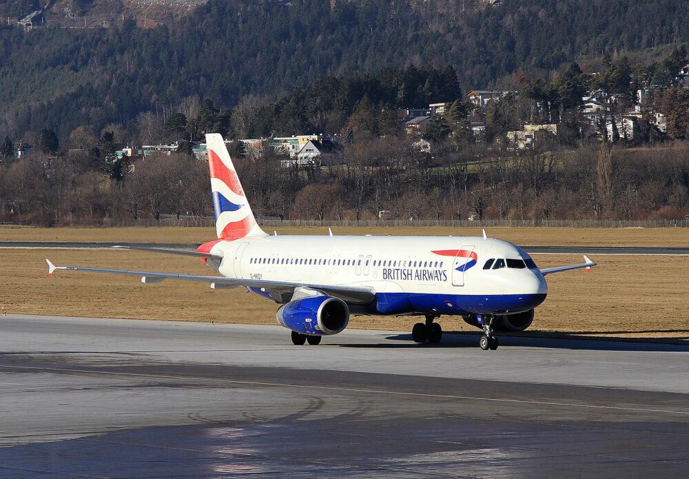 British Airways Airbus A320 Innsbruck