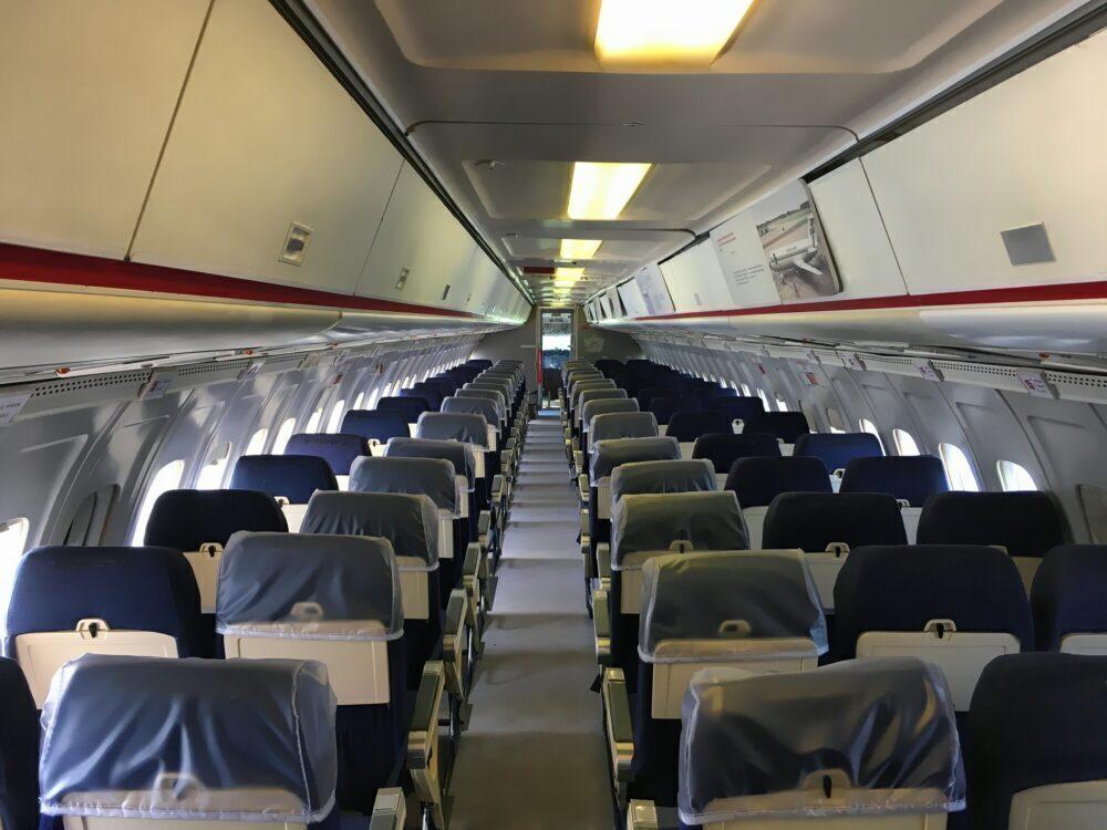 British Airways BAC 1-11 Interior