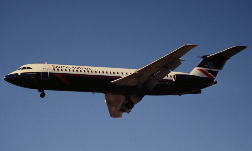 British Airways BAC 1-11