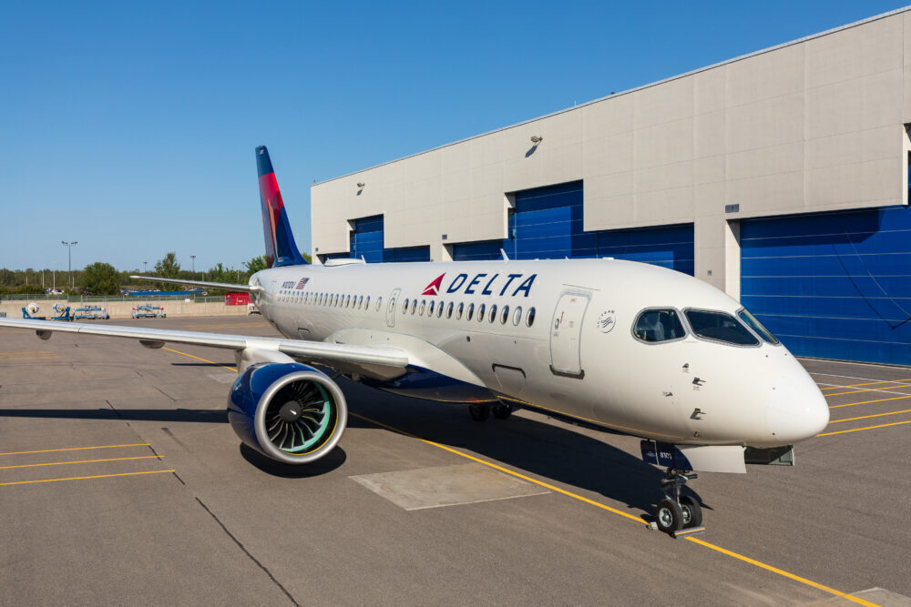 Delta Airlines Airbus A220