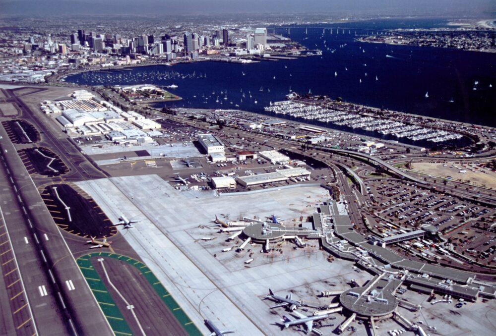 San Diego Airport aerial view