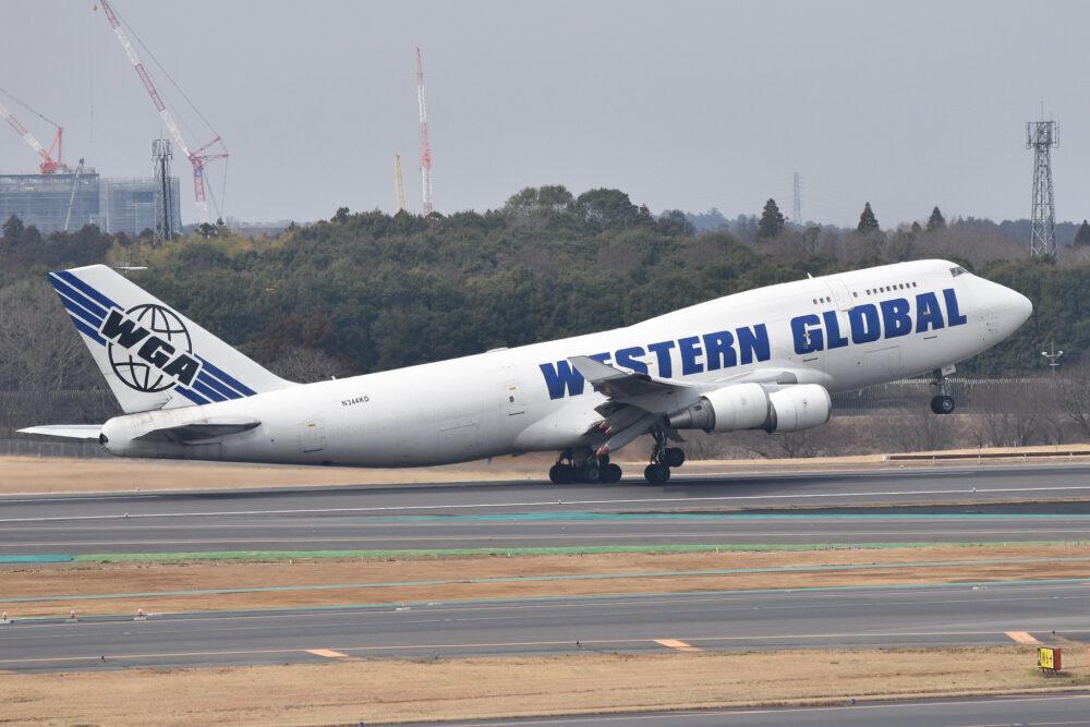 Western Global Airlines Boeing 747-400F