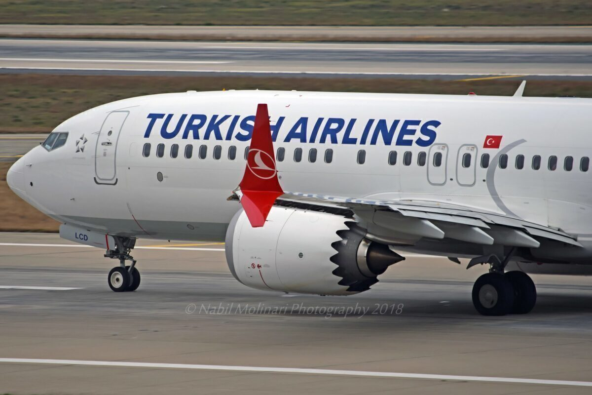 Turkish Airlines TC-LCD Boeing 737-8 MAX