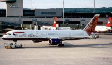 British Airways Boeing 757