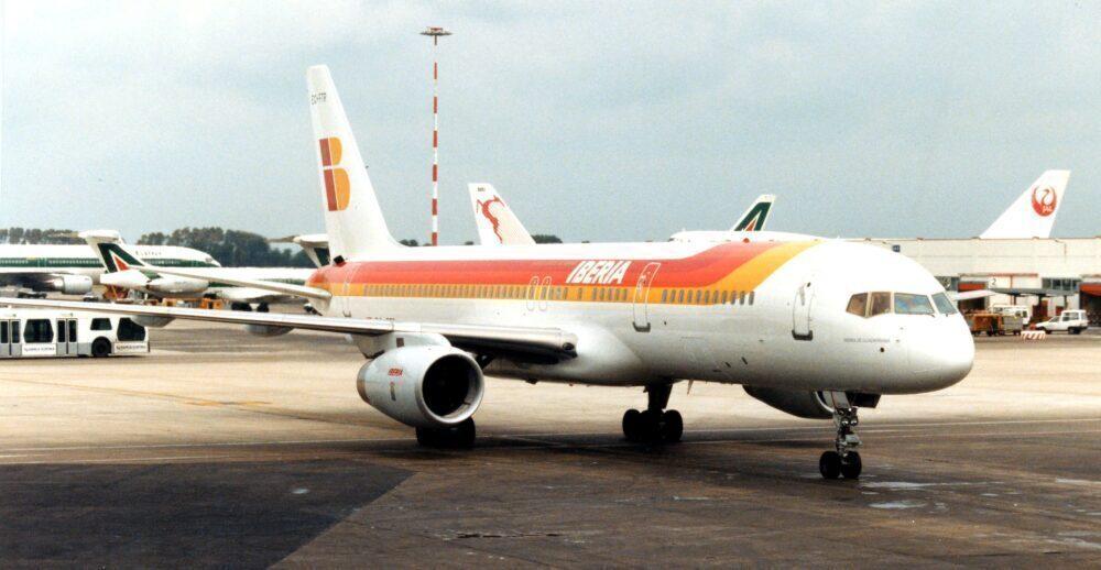 Iberia Boeing 757