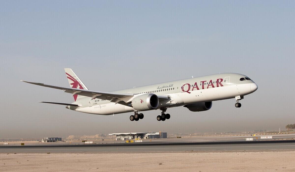 Qatar Airways, Boeing 787-9, Business Class